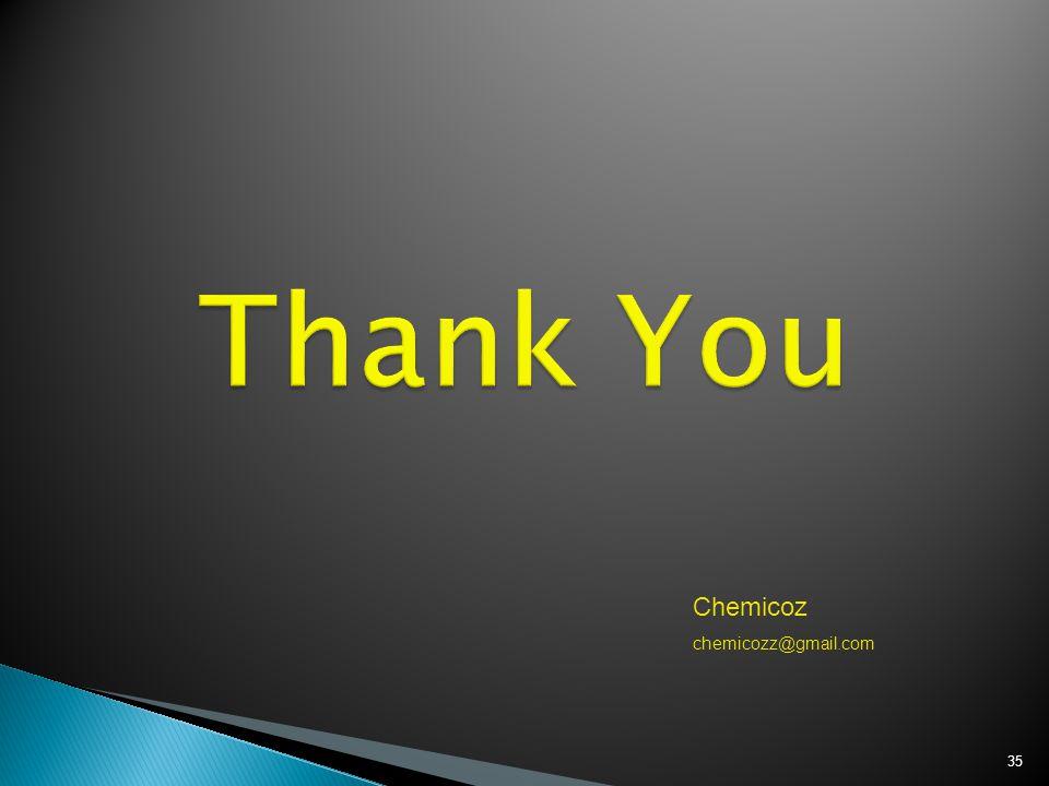35 Chemicoz chemicozz@gmail.com
