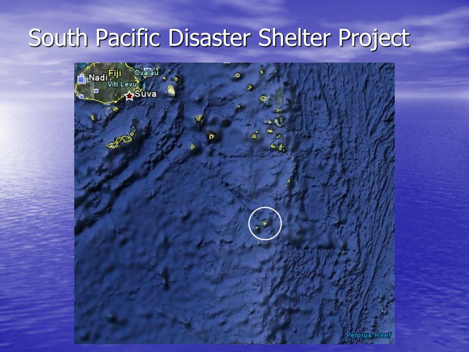 South Pacific Disaster Shelter Project