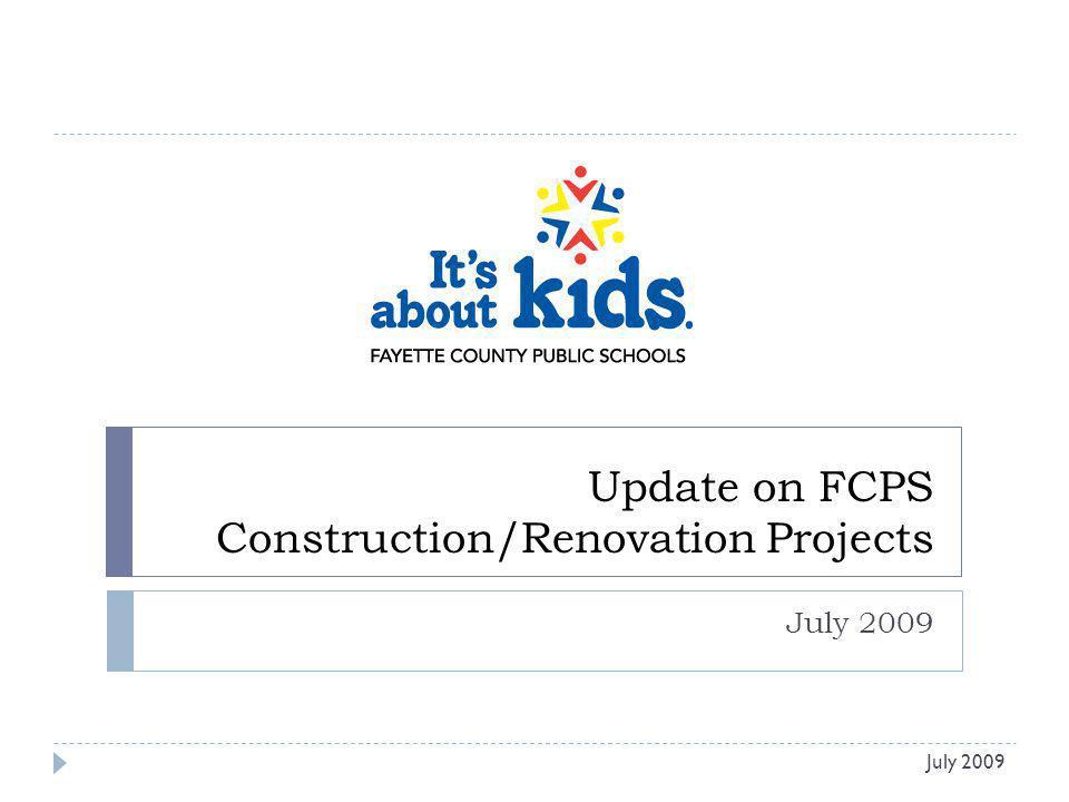 Arlington Elementary – Renovation Rendering of Final Façade July 2009