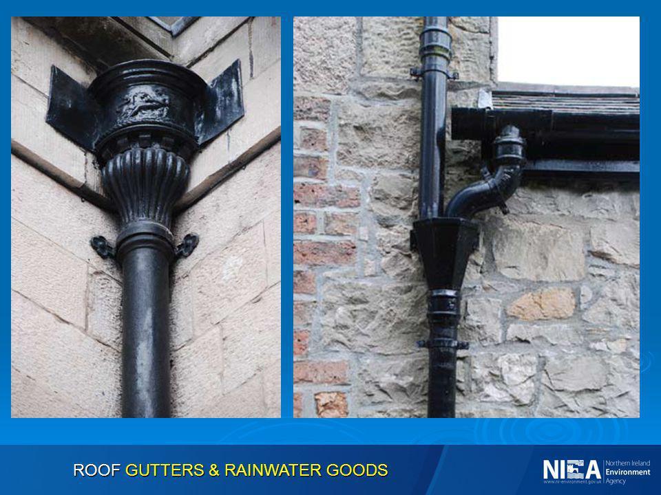 ROOF GUTTERS & RAINWATER GOODS