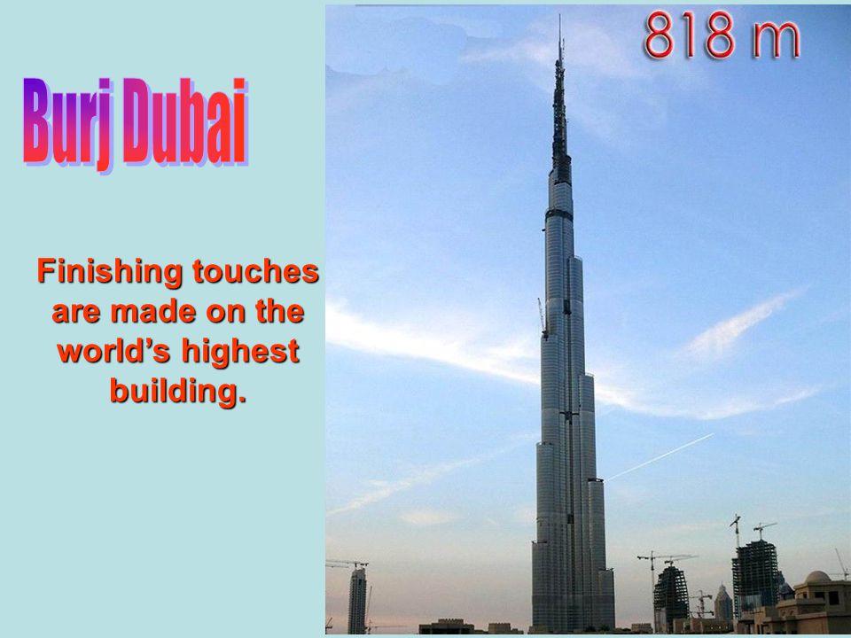 Burj Dubai Renamed Burj Khalifah The Construction From the internet by Hadi Kassim