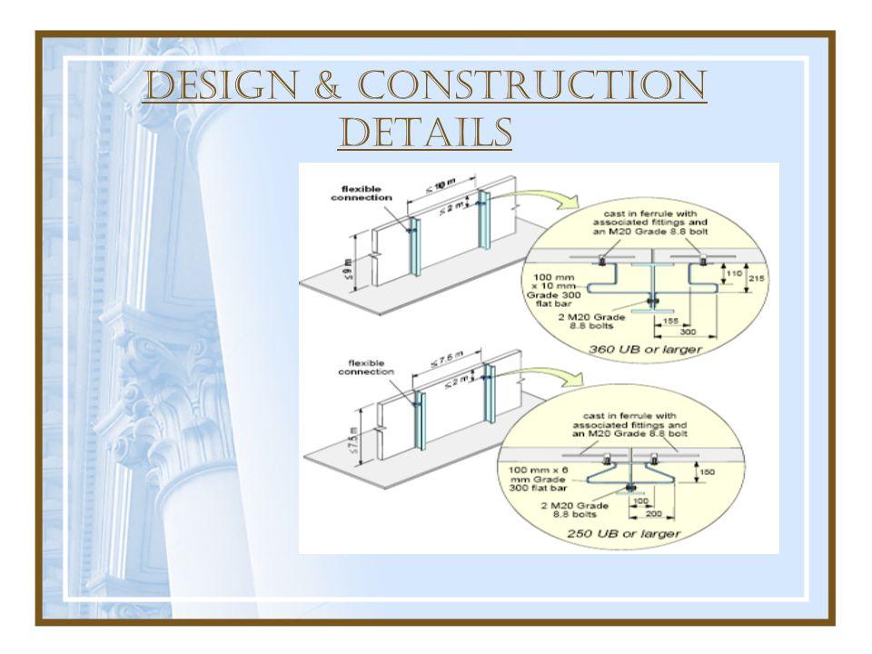 DESIGN & construction DETAILS