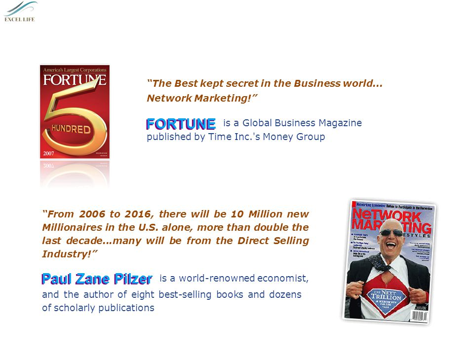Network Marketing Has Come of Age Warren Buffett 5