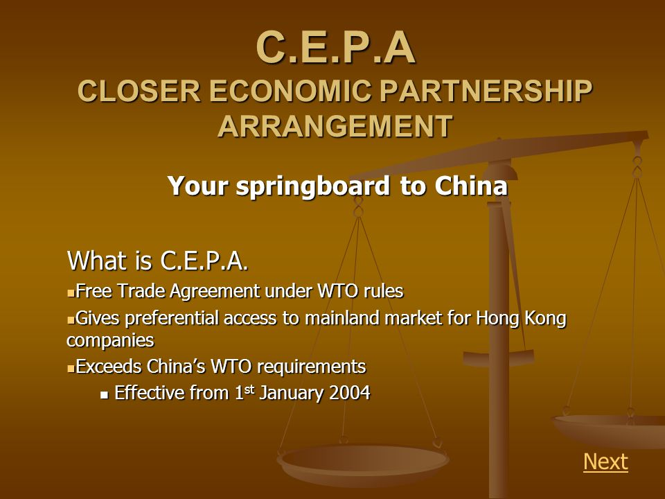 Im a manufacturer, how can I benefit from C.E.P.A.