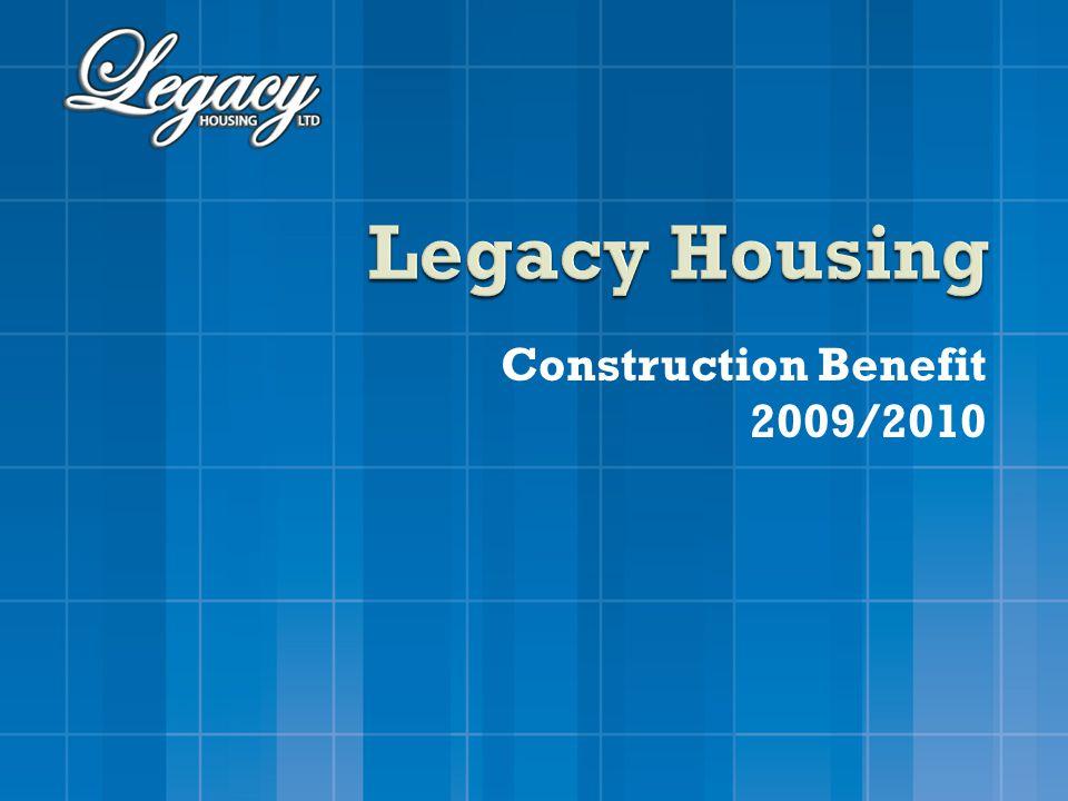 Construction Benefit 2009/2010