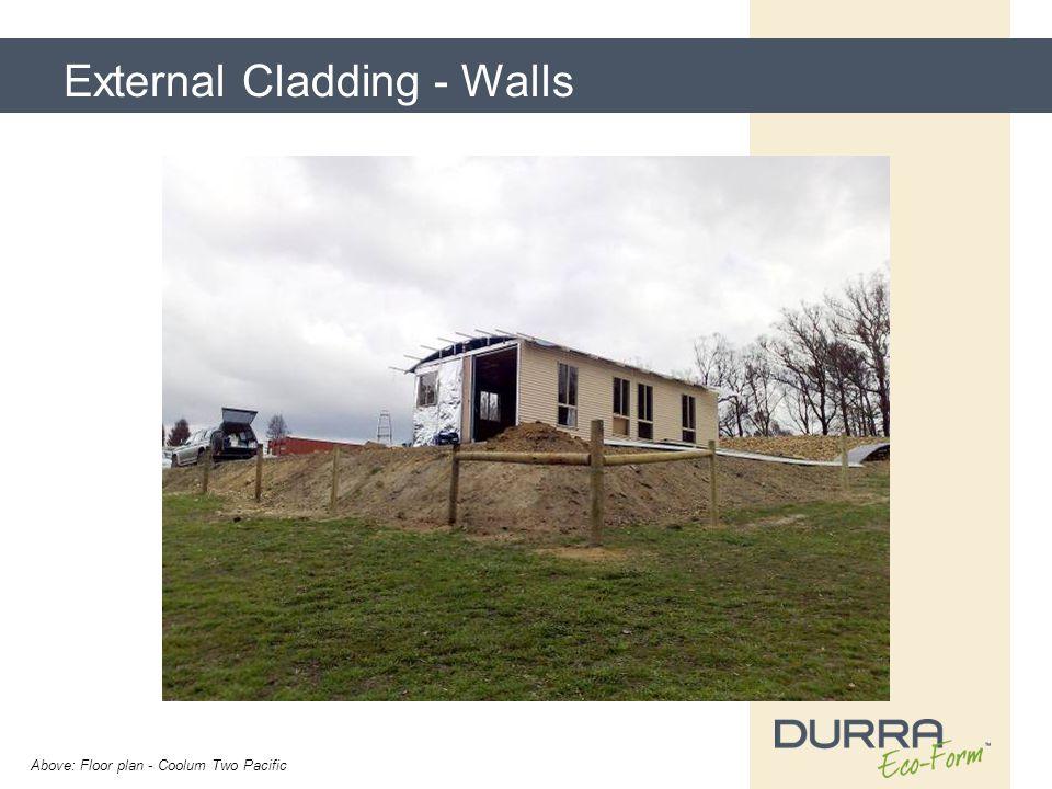 External Cladding - Walls Above: Floor plan - Coolum Two Pacific