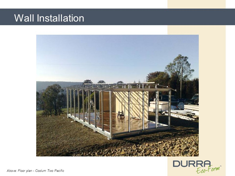 Wall Installation Above: Floor plan - Coolum Two Pacific