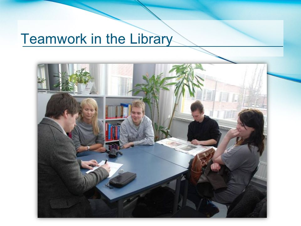 Teamwork in the Library