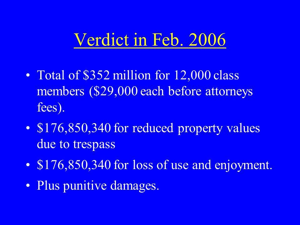 Verdict in Feb.