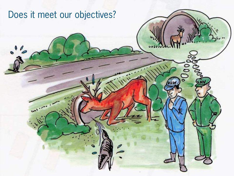 Does it meet our objectives?