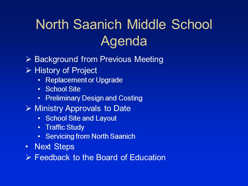 North Saanich Middle School