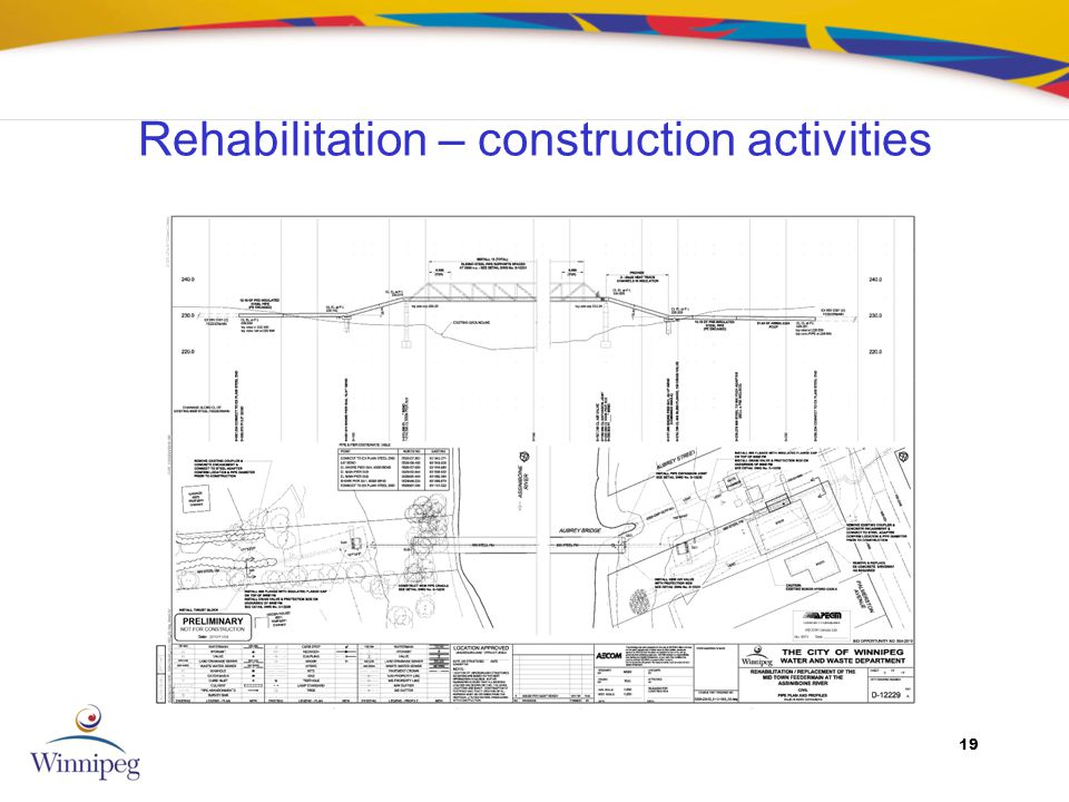 19 Rehabilitation – construction activities