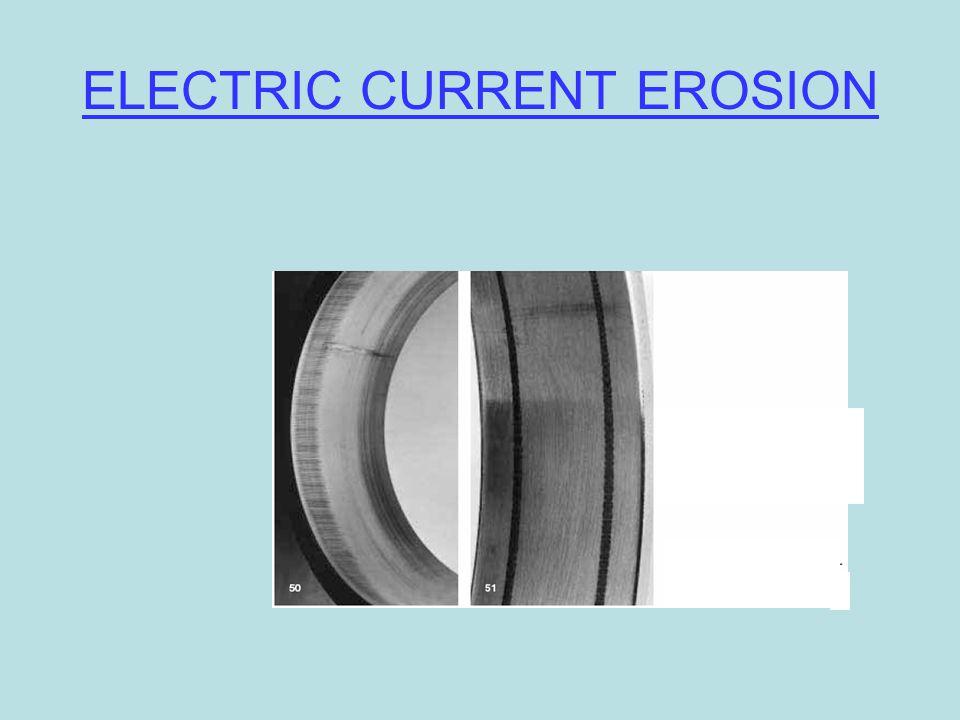 ELECTRIC CURRENT EROSION