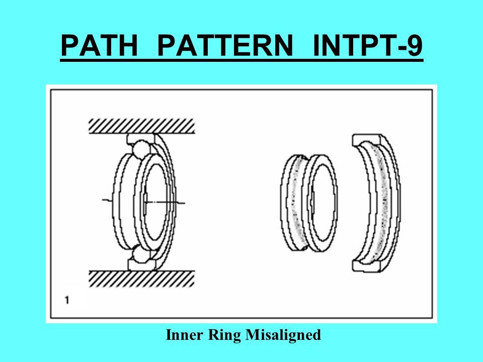 PATH PATTERN INTPT-9 Inner Ring Misaligned