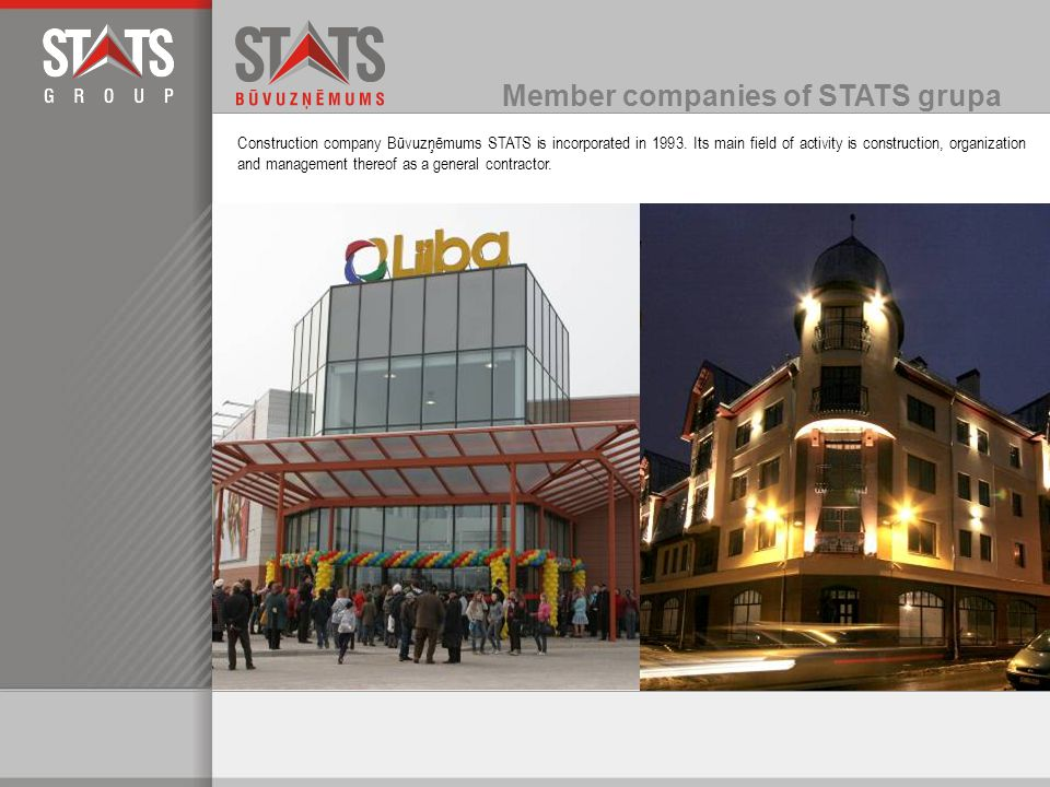 STATS Serviss is a company with long experience, selling and renting construction appliances, power-driven tools and equipment necessary for various construction works.