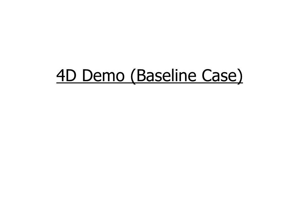 4D Demo (Baseline Case)