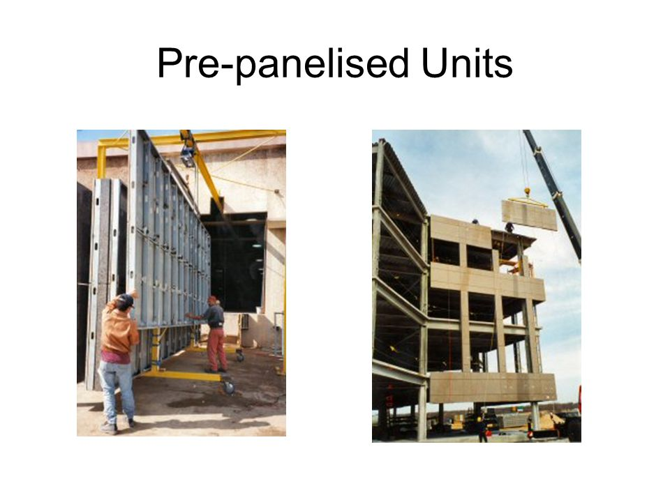 Pre-panelised Units