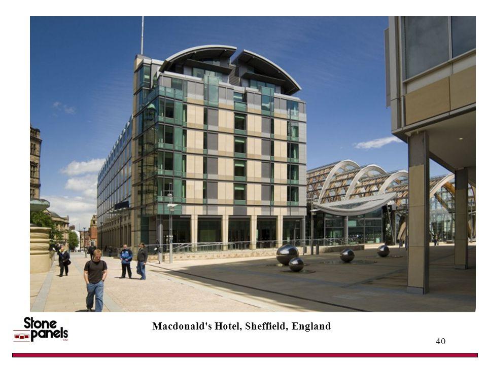 Macdonald s Hotel, Sheffield, England 40