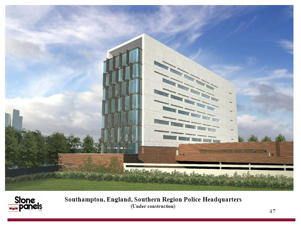Southampton, England, Southern Region Police Headquarters (Under construction) 47