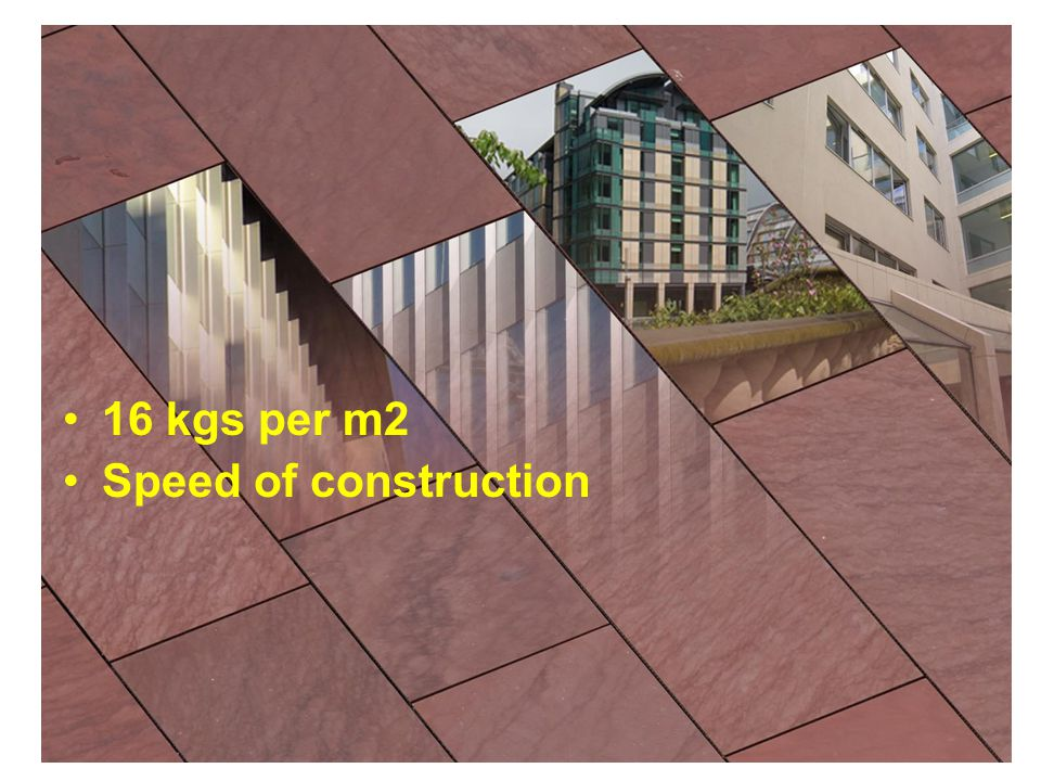 Speed of construction