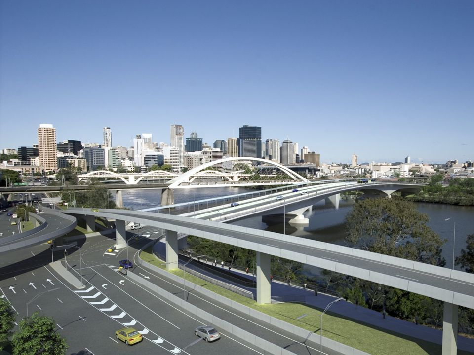 Connections… The bridge is designed to increase accessibility to and from some of Brisbanes most popular recreational, cultural, educational and residential precincts including South Bank, West End, Caxton Street and Park Road.