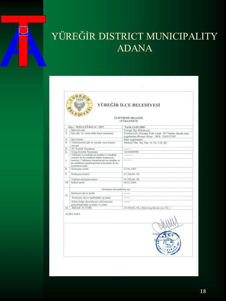 YÜREĞİR DISTRICT MUNICIPALITY ADANA 18