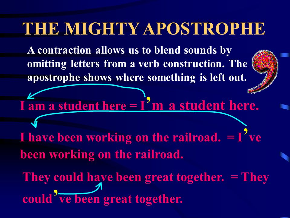 THE MIGHTY APOSTROPHE To form the possessive of a plural noun, we pluralize first and then add the apostrophe.
