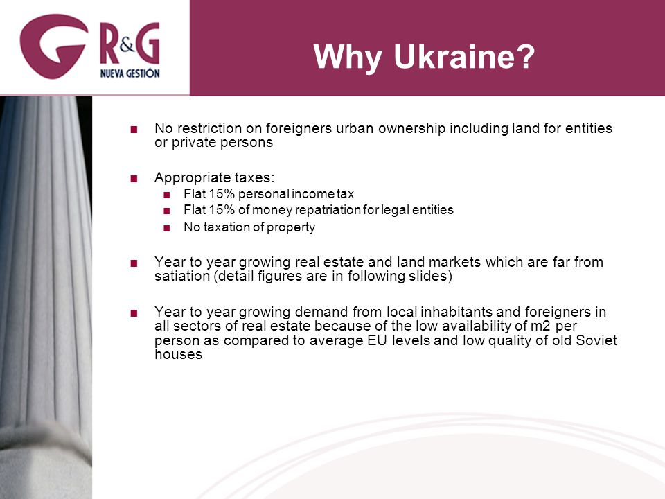 Why Ukraine.
