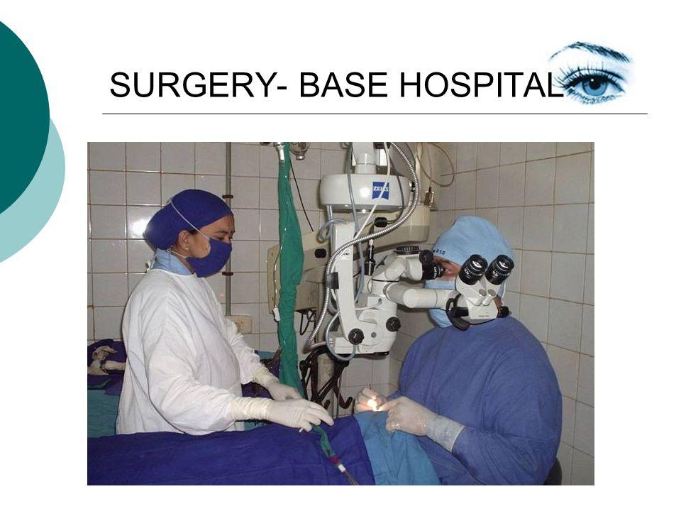 SURGERY- BASE HOSPITAL