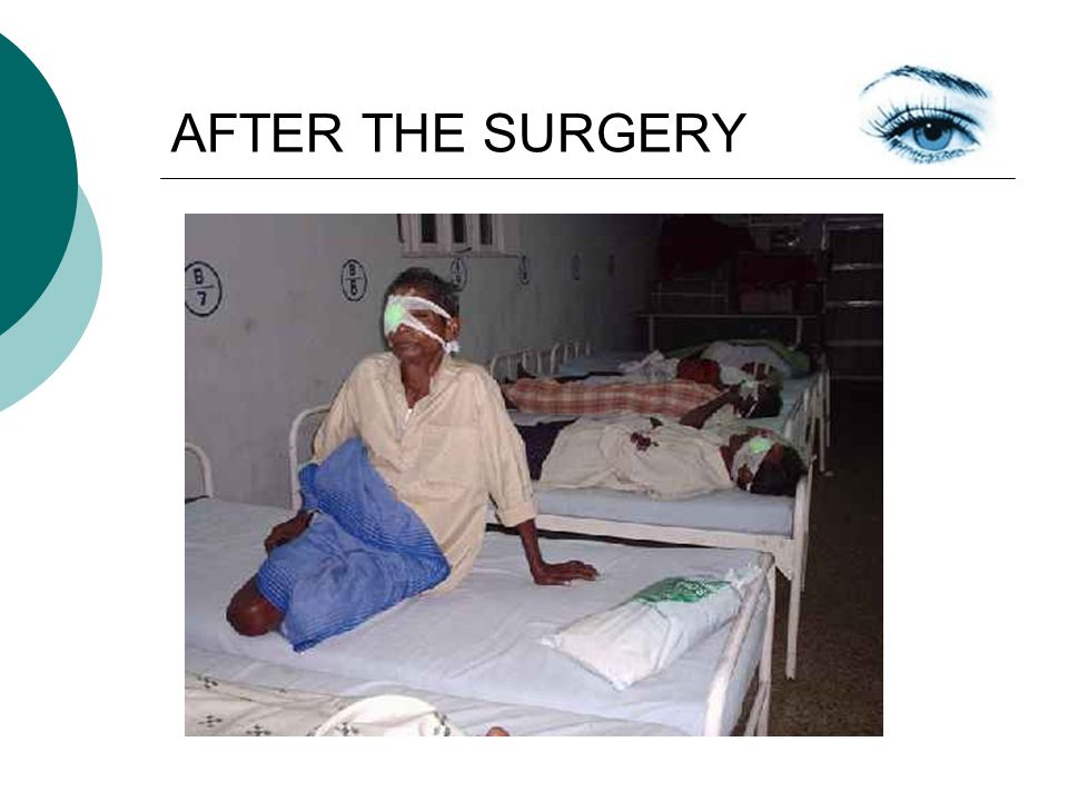 AFTER THE SURGERY