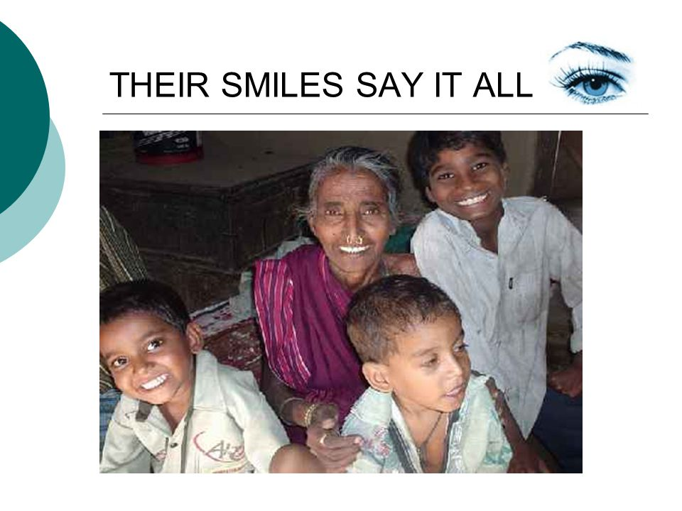 THEIR SMILES SAY IT ALL