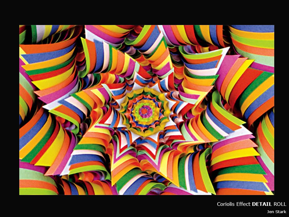 Coriolis Effect DETAIL Jen Stark