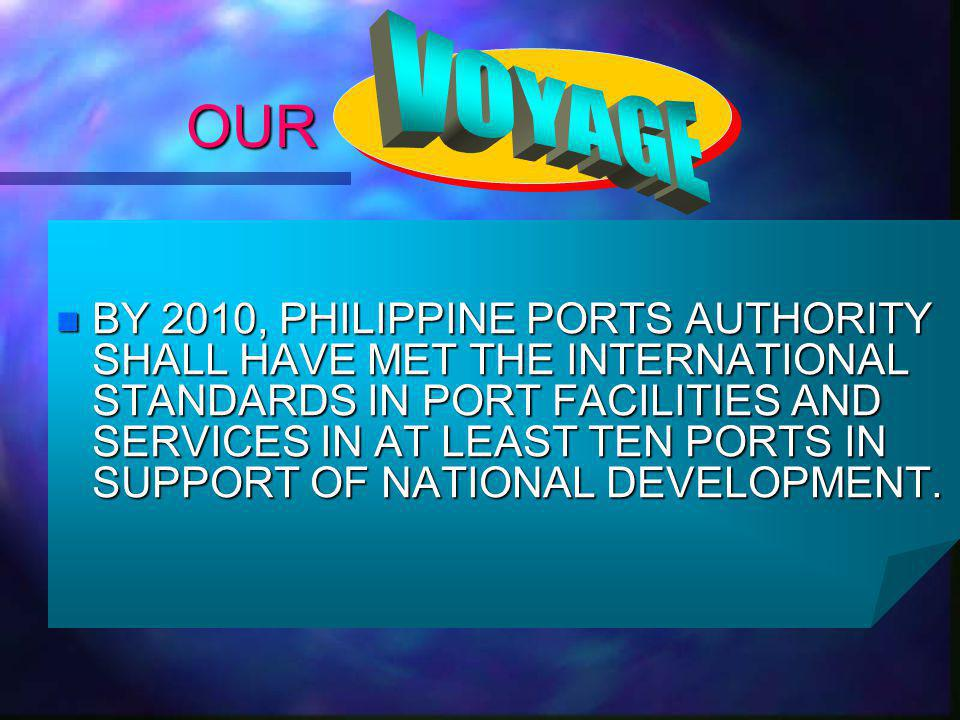 CARRIER / VESSEL n The n The Port District Office of Southern Mindanao otherwise known as PDO – Somin operates under the direct supervision of the Office of the General Manager and manages the operation and management of ports under its jurisdiction.
