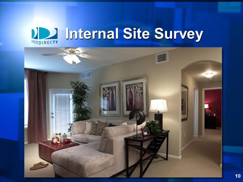 10 Internal Site Survey