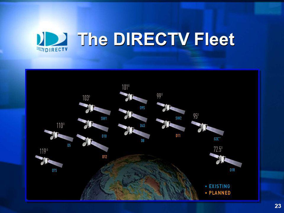23 The DIRECTV Fleet