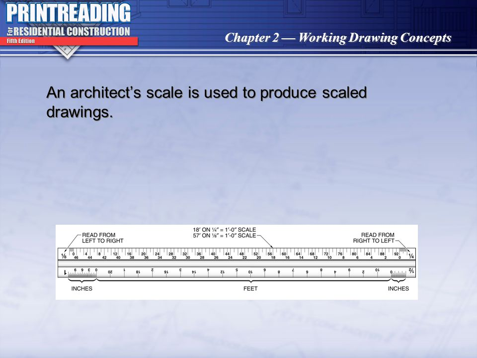 Chapter 2 Working Drawing Concepts A point on an elevation is shown as a line on the adjacent elevation and vice versa.