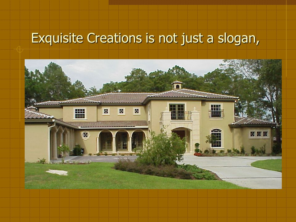 R. Paul Construction Exquisite Creations