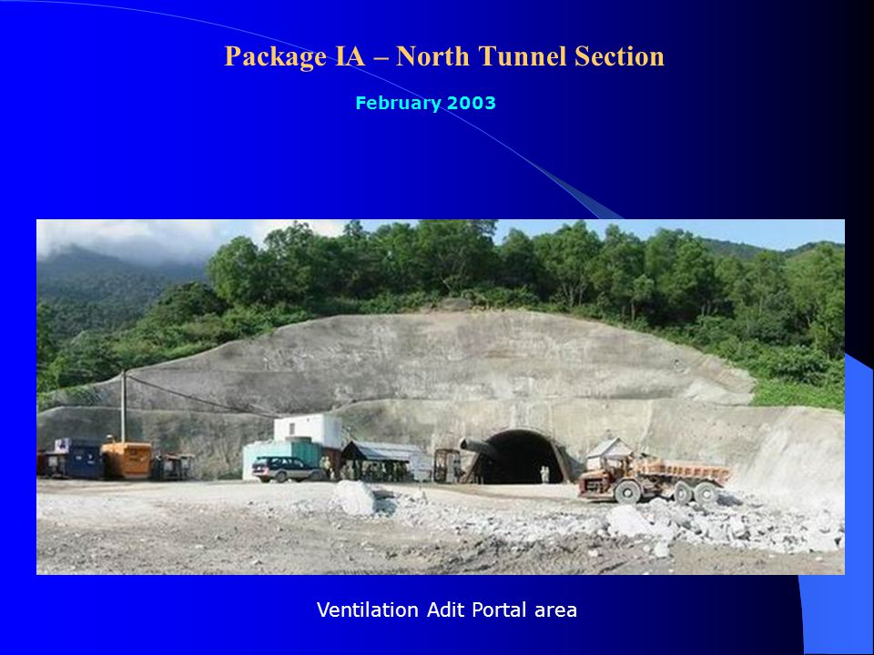 Package IIB – Southern Highway Section February 2003 Bridge No.2: launching spans (A1-P3)