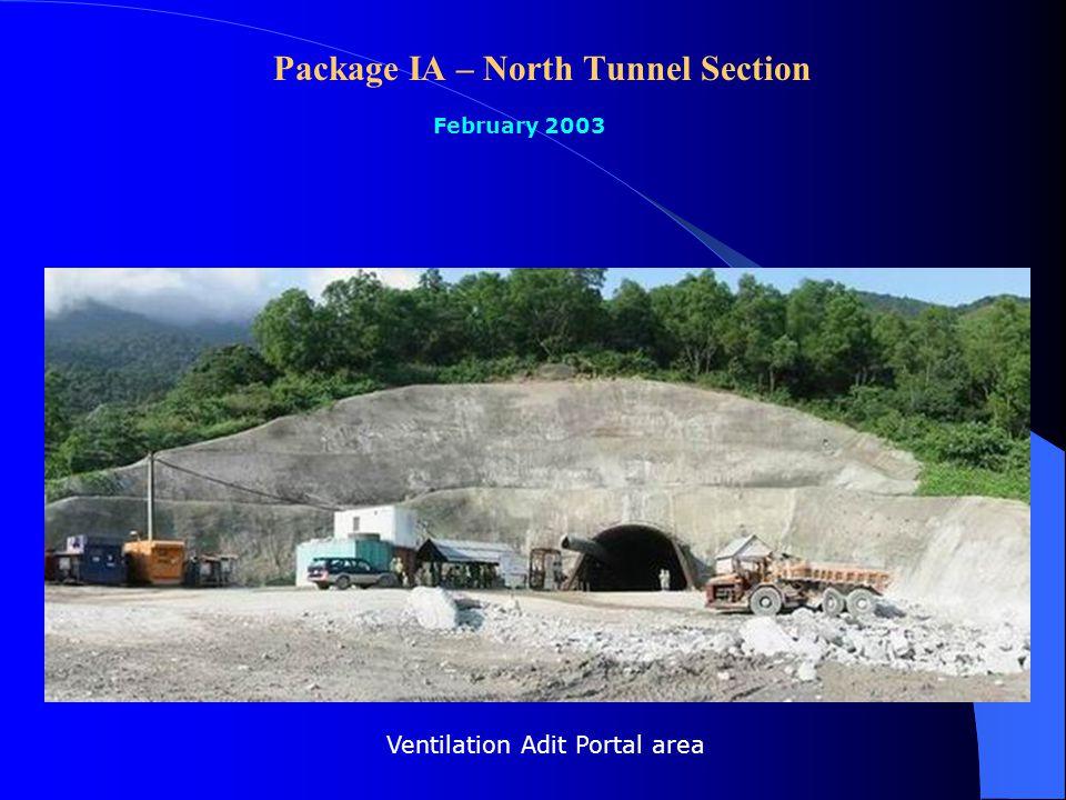 Package V: 110/22kV Substation and 110kV Transmission Line February 2003 Earthing register measurement for access