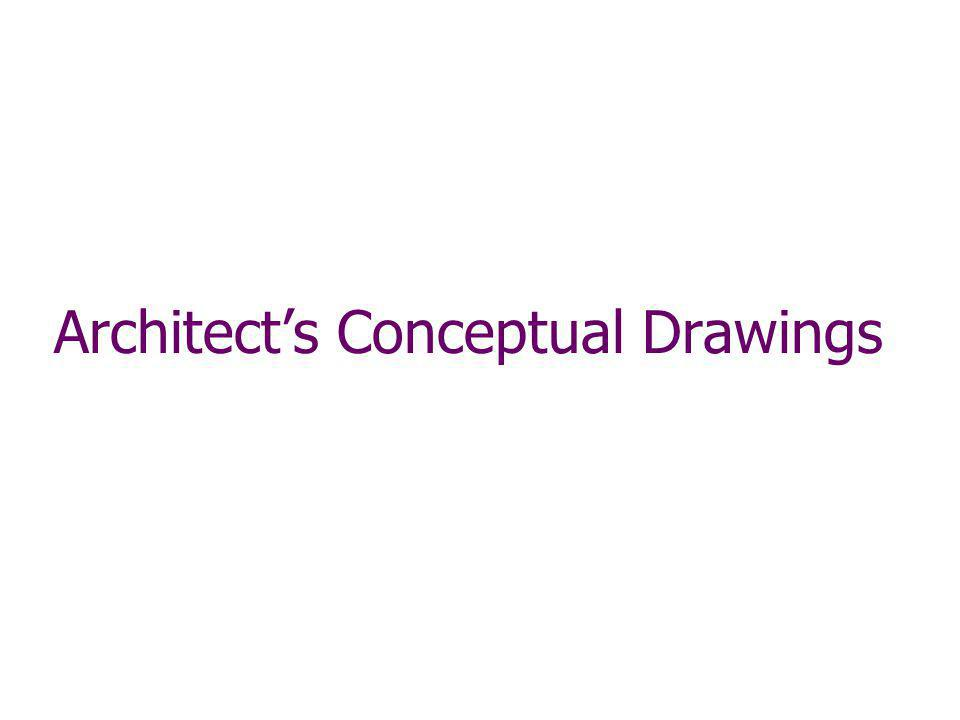 Architects Conceptual Drawings