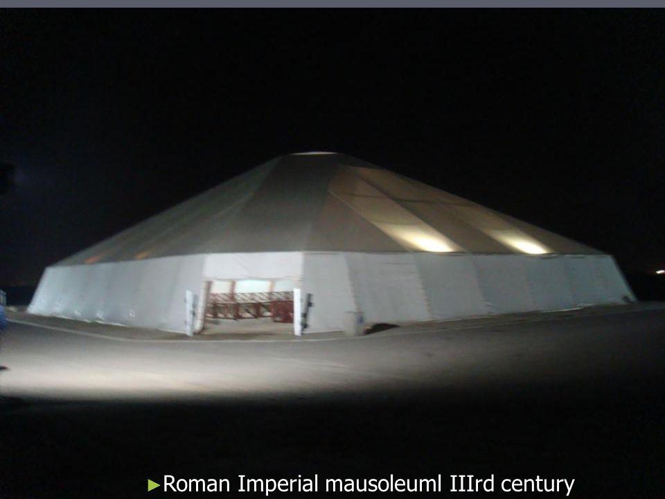 Roman Imperial mausoleuml IIIrd century Roman Imperial mausoleuml IIIrd century