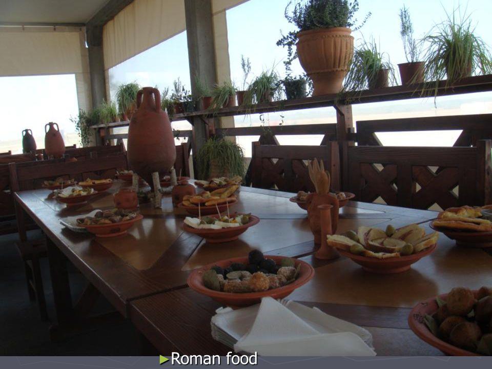 Roman food Roman food