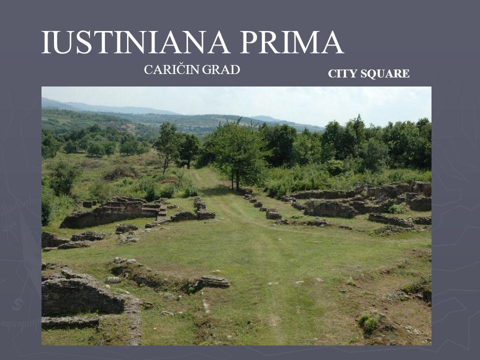 IUSTINIANA PRIMA CARIČIN GRAD CITY SQUARE