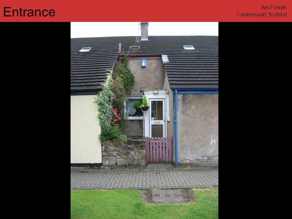 www.annforsyth.net Entrance Ann Forsyth Cumbernauld, Scotland