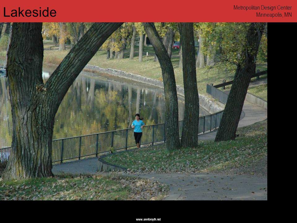 www.annforsyth.net Lakeside Metropolitan Design Center Minneapolis, MN