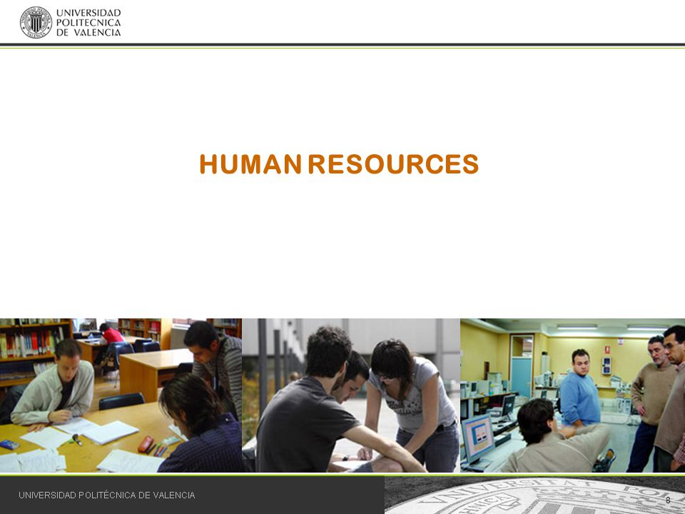 8 HUMAN RESOURCES
