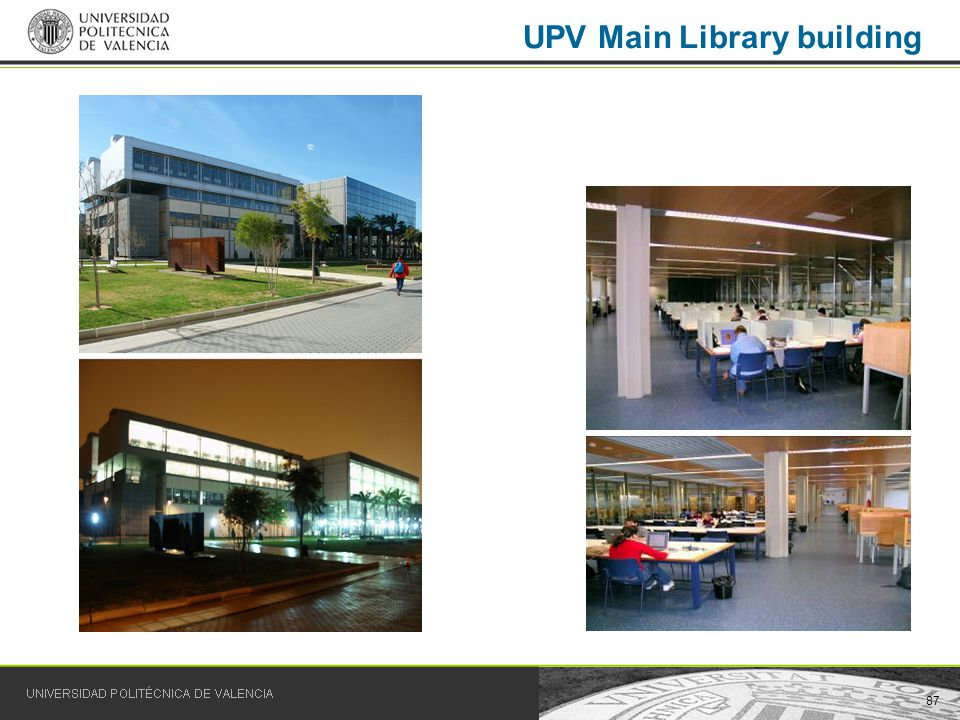 87 UPV Main Library building
