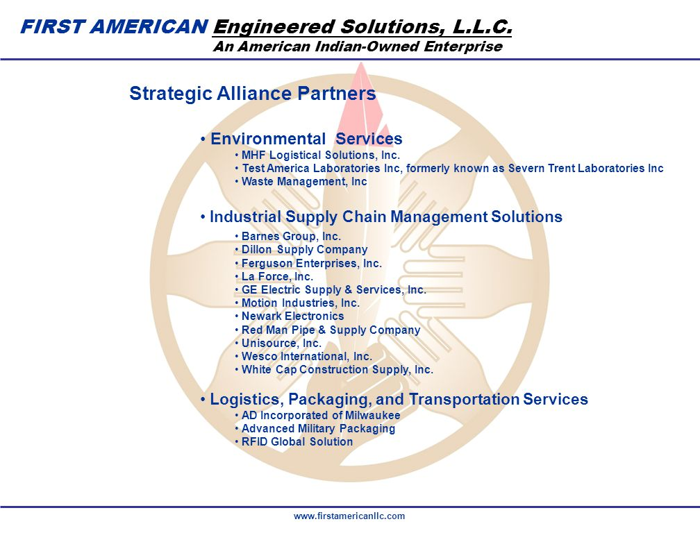 FIRST AMERICAN Engineered Solutions, L.L.C.