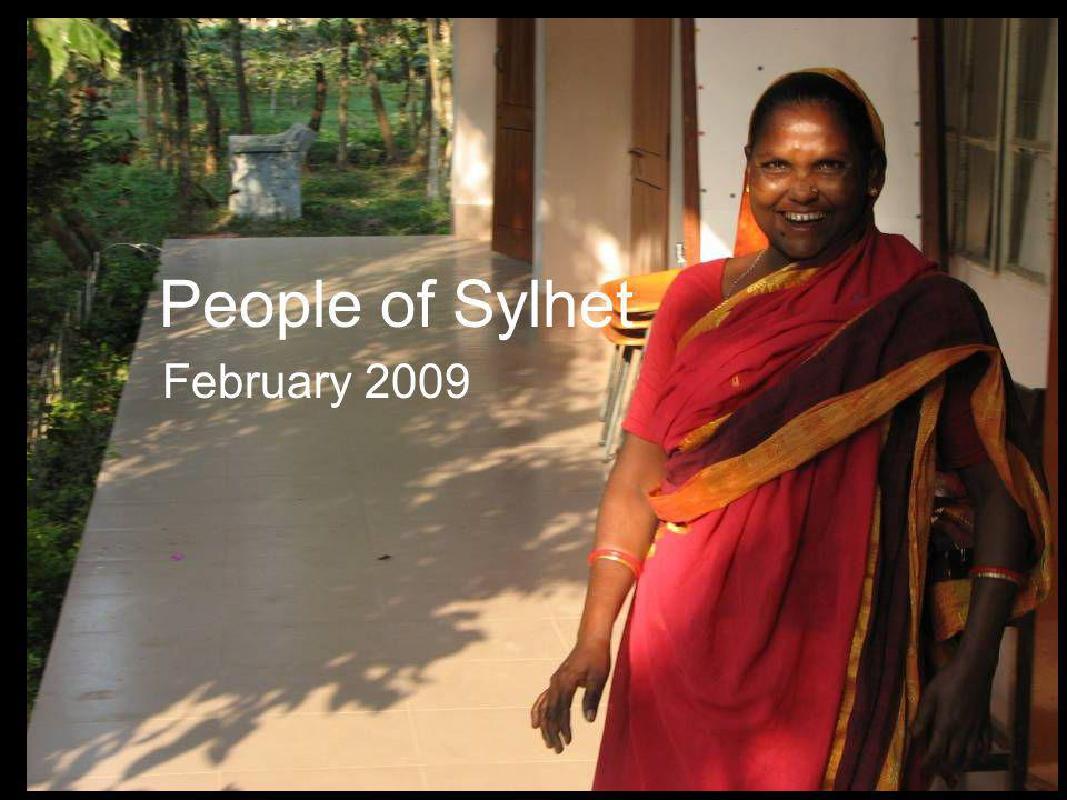 People of Sylhet February 2009