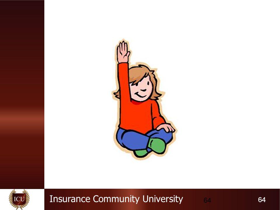 Insurance Community University 64